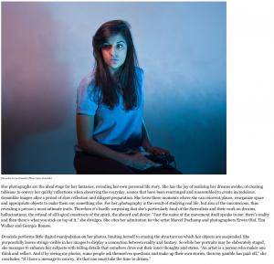 Articles sur le travail de Cerise Doucède dans le magazine FORBES