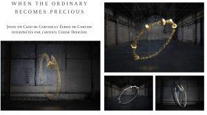 Dossier de presse Cartier : Événement Juste un Clou / Juste un Ecrou. Exposition » Precious Garage » au Salone de Mobile à Milan, 2017.