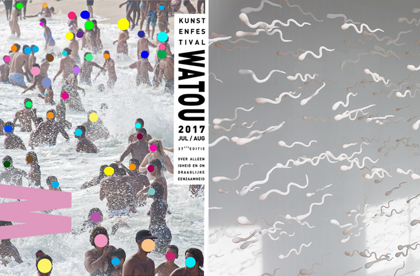 Emilie Faïf expose deux installations au festival d'art de Watou en Belgique. Le programme multidisciplinaire réunit des artistes d'horizons variés, dont le parcours se déroule sur 11 sites mettant en valeur la symbiose entre la poésie et l'art visuel.