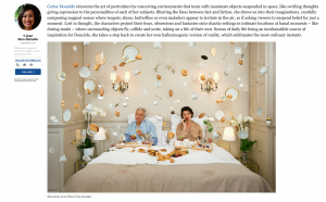 Articles on the work of Cerise Doucède in FORBES magazine