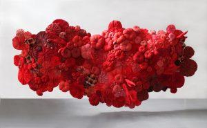2011 – Printemps Haussmann, Textile sculpture.