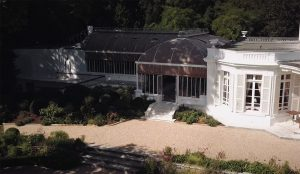 The Winter Garden of the Hennessy House – Castle of Bagnolet in Cognac.