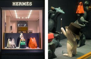January 2018 – Hermès Swiss windows – House of games. This project invits the passerby into a world where a mischievous animal tells the story : the rabbit.