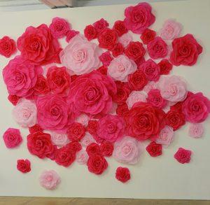 December 2015 – Annick Goutal – rose pompon – Lancement presse, paris. For the launch of « Rose Pompon », Soline d'Aboville designs the scenography of the press event celebrating Annick Goutal's new fragrance, 104 avenue des Champs Elysées.