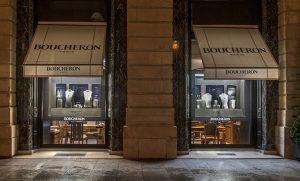 Christmas 2016 – Boucheron – place Vendôme – Window decorations, international network.