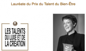 In time for 2018, Soline d'Aboville, designer-scenographer, received the Well-being Talent prize on the occasion of the Talents du Luxe et de la Création event. This summit has been rewarding the savoir-faire and excellency of artists and managers in the luxury industry for 15 years. Founder of Manymany agency, Soline d'Aboville designs and produces window decor and settings for prestigious houses.