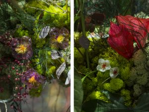 To be more meaningfull, all the floral creations will be sold by Landmark to benefit the Green Earth Association – June 2018.