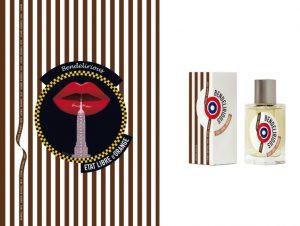 Pour cette occasion, Ich&kar revisite le design original en le gansant du ruban de la célèbre enseigne HENRI BENDEL accompagnée d'une illustration hommage à « New-York ».