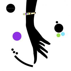 Comme une ôde à la couleur de ses pierres, Ich&Kar dessine un dossier de presse minimaliste et pop.