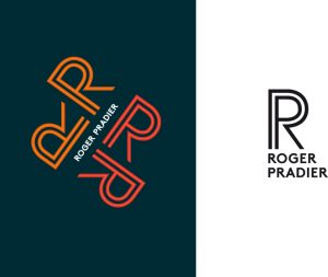 Ich&Kar signe le nouveau logo Roger Pradier, célèbre fabricant de luminaire d'extérieur depuis plus de 100 ans.