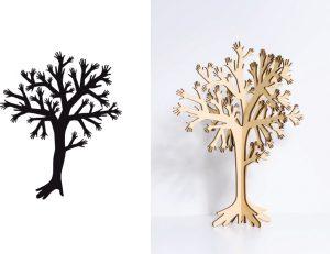 Porte bijou «My Tree» pour Domestic