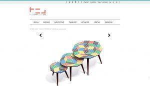 Collection Penrose par Ich&Kar pour Bazartherapy, Blog Esprit Design, Juillet 2015