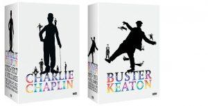 Coffret Charlie Chaplin et Buster Keaton, Arte éditions – Direction artistique