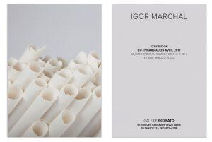 Février 2018 – Collection de cartons pour la Galerie Eko Sato.