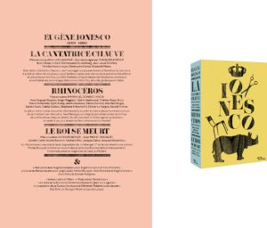 Coffret Ionesco – Arte Éditions – Direction artistique