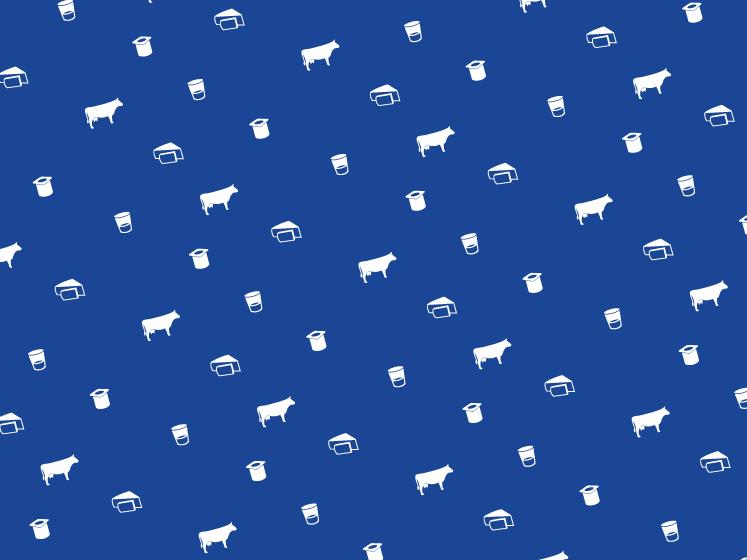 L'identité visuelle de la Milk Factory présente une signature généreuse et juste, une expression limpide imaginée par Ich&Kar.