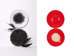 Duo d'assiettes gourmandes – Design