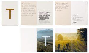 Plus qu'une brochure, il s'agit d'un petit livre qu'on aime à partager et à garder. Les photographies de Derek Hudson sont une invitation à découvrir les promenades préférées de Michel Troisgros.