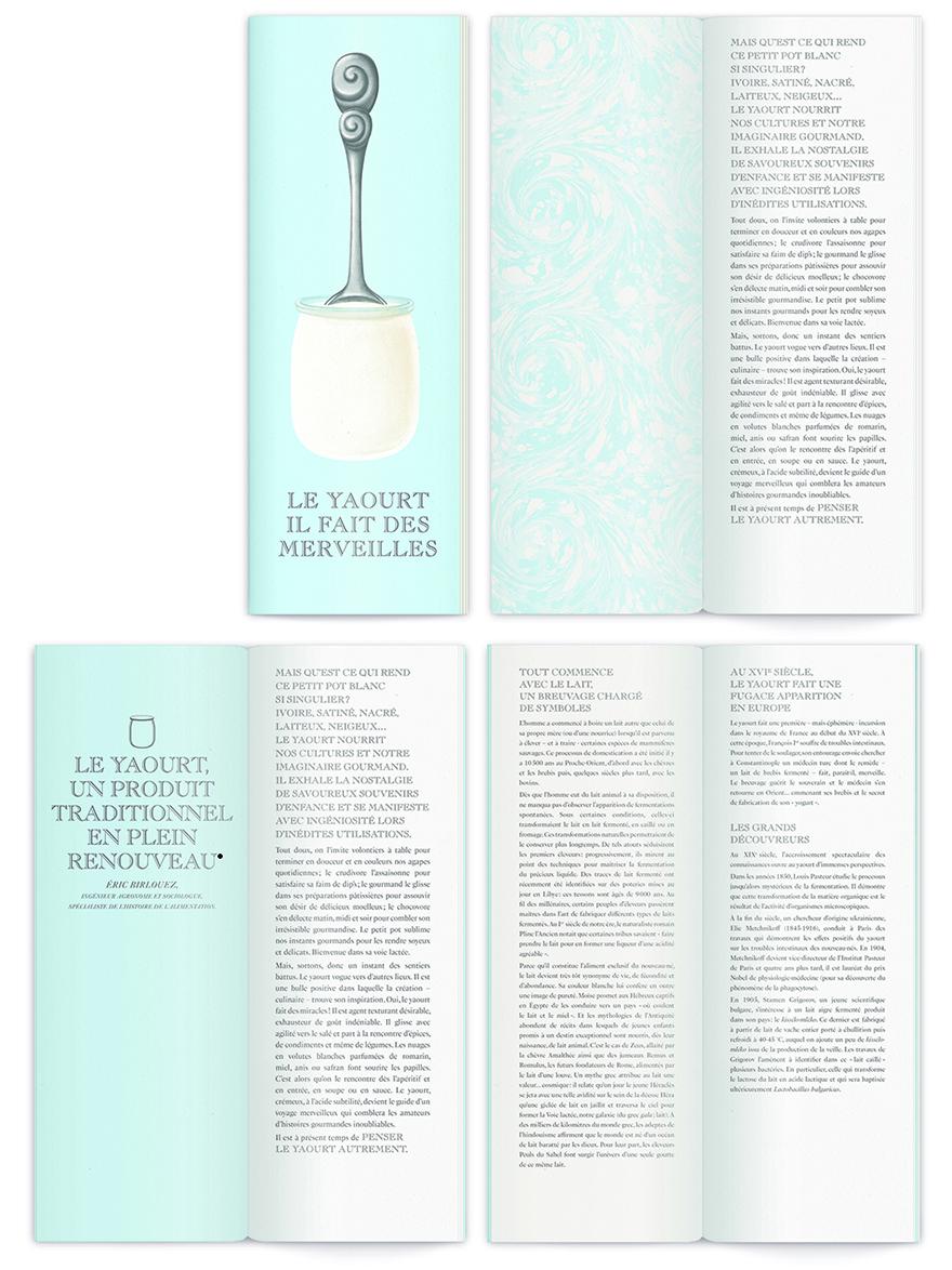LE YAOURT FAIT DES MERVEILLES – Livret.