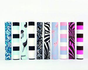 Rouleaux de papier peint, Collection Phosphowall – papier peint à encre phosphorescente. Ich&Kar's Phosphowall a été élu lauréat du Wallpaperlab 2008