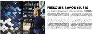 Vivre côté Paris, 1er Décembre 2017, n°54. Textes : Virginie Bertrand. Photographies : Nathalie Baetens.