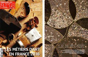 Connaissance des Arts, Mars 2016.