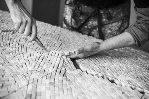 Atelier de Mathilde Jonquière – projet en cours.