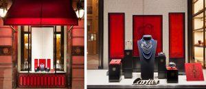 Hiver 2011 – CARTIER – Nouvel An Chinois – Création de l'animation des vitrines à l'occasion du Nouvel an Chinois.