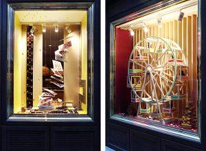2016 –  Les collections sont mises en scène dans des dispositifs ludiques et colorés qui redonnent vie à l'espace.