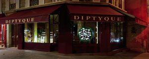 Diptyque – Vitrine Sablier, Paris