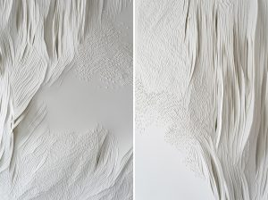 Angèle Guerre, artiste plasticienne, septembre 2021, « Tendre texte #9», Art Paris – Art Fair, Grand Palais Éphémère