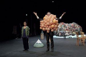 « Les Arpenteurs » – compagnie Revue Eclair – Théâtre de l'Aquarium – Photo: P.Grosbois