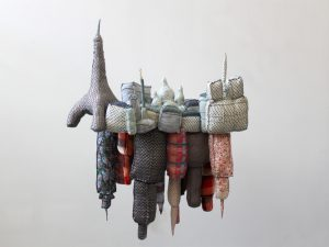 Paris-New York, sculpture textile