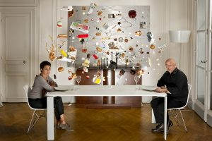 2012 – Egarements Series – Mathilde de L'Ecotais and Thierry Marx. Limited digital print, 5 ex. 80 x 120 cm.
