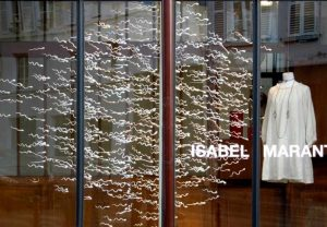 """Spermatozoïdes"" creation – Isabel Marant, Paris"