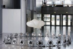 """"""" Clouds """", Centre d'art de l'Onde, 2016."""