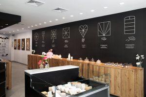 French Cheese Board concept store à Nolita, New York.