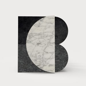 Ich&Kar designed the visual identity of Blanc Carrare marble contemporary house valuing modernity as much as tradition.