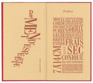 Liquorice and Espelette pepper – Épure Editions