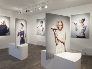 "Scenography and communication of the exhibition "" Les filles à fromage "" – Milk Factory"