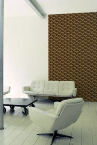"""Like cork"" wallpaper, Collection Wood, 2011"