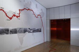 Scenography, signage and graphism of the exhibition « Orients sans frontières » – Espace culturel Louis Vuitton.
