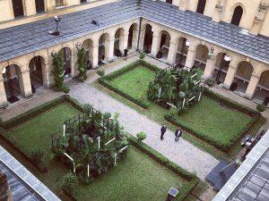 Marianne Guedin, Vegetable scenography, July 2017, Galia Lahav, High School Henri IV, Paris