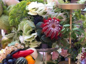 Marianne Guedin, vegetal scenography, September 2019, Kamel Mennour & Gallery Kréo, Beaux-Arts de Paris