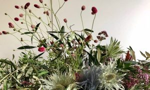 Marianne Guedin, vegetal scenography, October 2020, Cartier, Shanghai