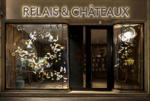 Winter 2017 – Relais & Châteaux's – Christmas' windows.