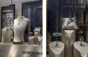 Christmas 2016 – Boucheron – place Vendôme – Window decorations, international network.