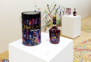 2017 – Soline d'Aboville designed the event on the occasion of the collaboration between Hennessy and urban artist JonOne, who customised the 2017 Very Special bottle.