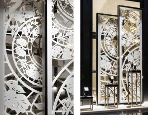 December 2014 – VACHERON CONSTANTIN – Vacheron Constantin, Boutique situated 2 rue de la Paix, Paris – International network.