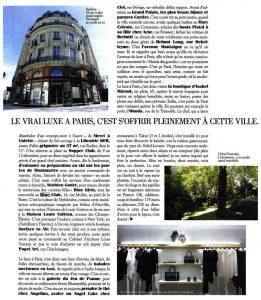 La Parisienne, Dec 2013